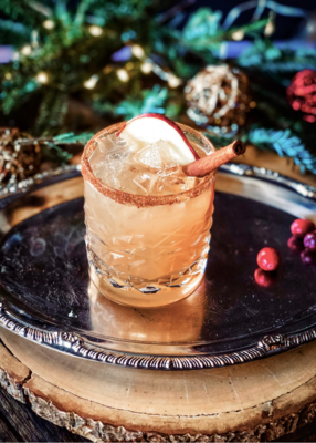 Shades of Rose Gin Cocktail Kit: Cinnamon Spritz