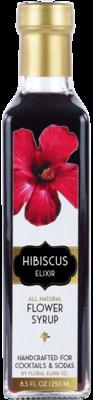Hibiscus Elixir: Cocktail & Soda Syrup
