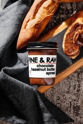 FINE & RAW - chocolate hazelnut butter spread