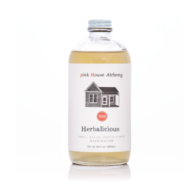"""""""Herbalicious"""" Simple Syrup"""