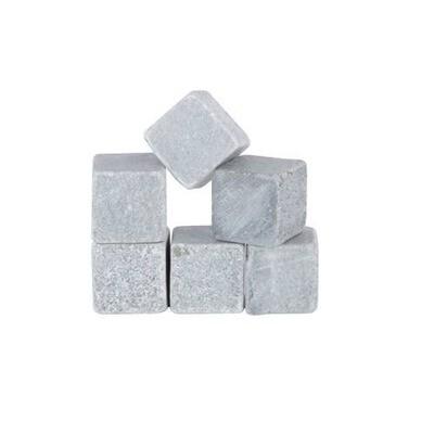 "Glacier Rocks: Soapstone ""Ice"" Cubes"