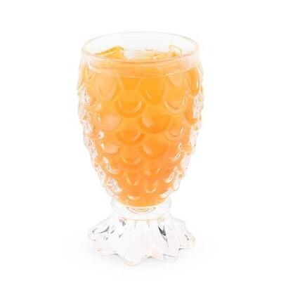 """Paradise"" Pineapple Glasses"