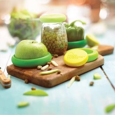 Food Huggers - Fresh Green Food Huggers - Set of 5