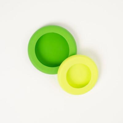Food Huggers - Green Citrus Savers - Set of 2