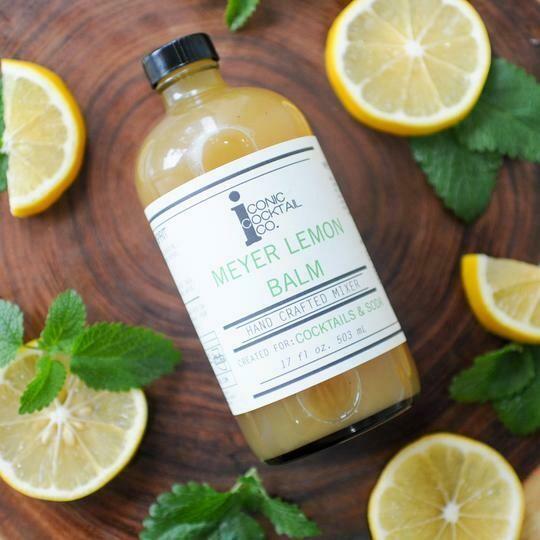 Meyer Lemon Balm Cocktail Mixer