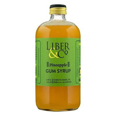 Liber & Co. - Pineapple Gum Syrup