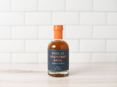 ROOT 23 - Grapefruit Basil Simple Syrup