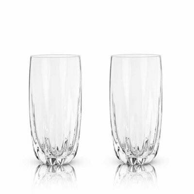 Viski - Raye: Cactus Crystal Highball Glasses (VISKI)