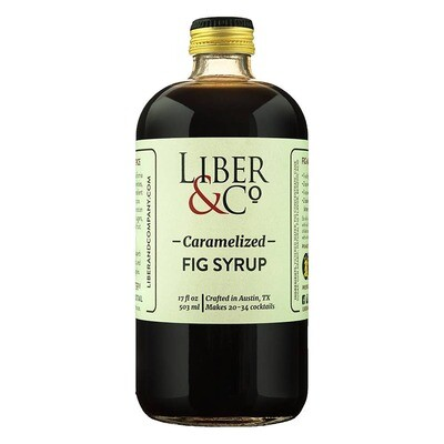 Liber & Co. - Caramelized Fig Syrup