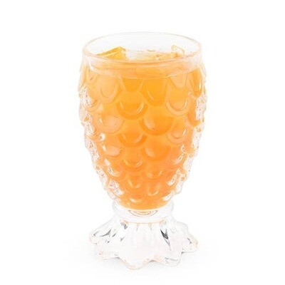 TRUE - Paradise™ Set of 2 Pineapple Glasses by True