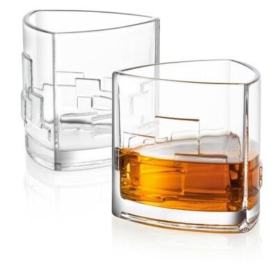 JoyJolt - Revere Whiskey Old Fashioned Glasses