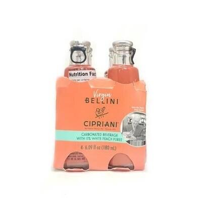 Zia Pia imports + Italian kitchen - Cipriani Virgin Bellini 6oz Bottle