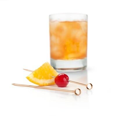 Viski - Summit™ Copper Cocktail Pick Set by Viski