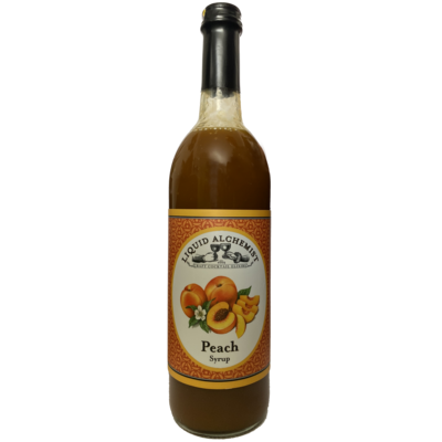 Liquid Alchemist Syrups - Peach Syrup 375ml