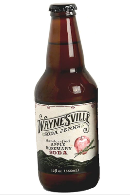 Apple Rosemary Soda by Waynesville Soda Jerks