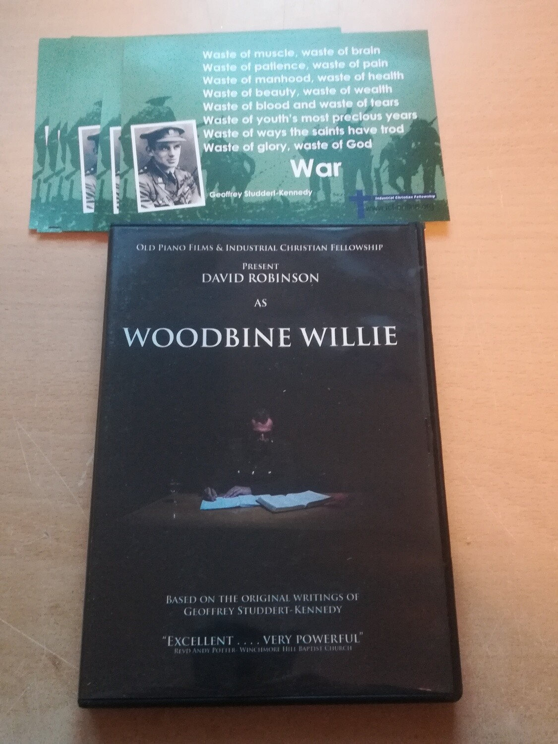 Woodbine Willie Pack - DVD & 6 postcards
