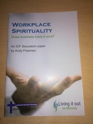 Workplace Spirituality  - Andy Freeman