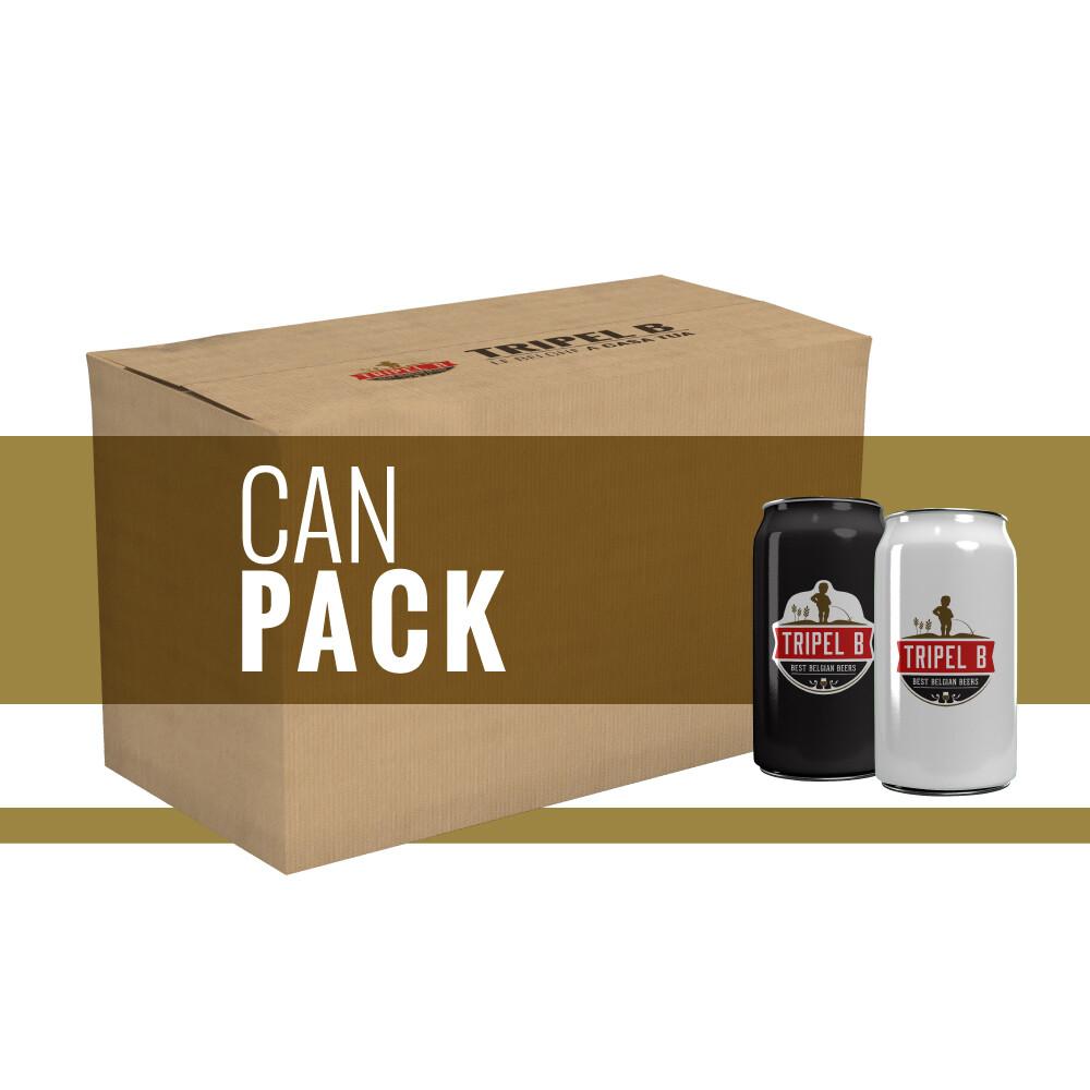 Pacchetto Mix Lattine - 24 x 33cl (6x4) - Riempi la tua scatola
