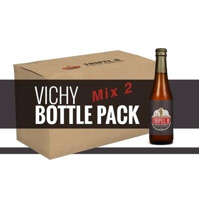 Pacchetto Mix2 - 24 x 33cl Bottiglie Vichy - Riempi la tua scatola