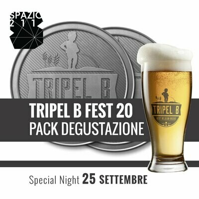 5 Anni TripelB in 5 Serate - PACK SERATA 4 - 25 SETTEMBRE @SPAZIO211