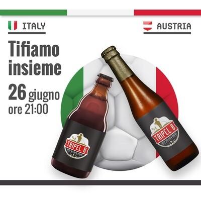 EURO 2020 - 26 Giugno 21.00 - ITALIA vs AUSTRIA - Online Reservation