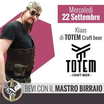 MASTRO BIRRAIO TOTEM CRAFT BEER & GRIGLIATA con THE LONE GRILLER