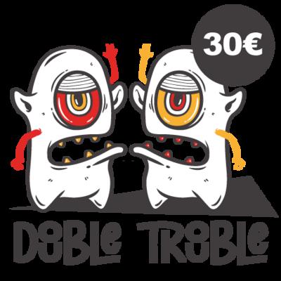 #TRIPELBFEST21 - PACK 2 - DOUBLE TROUBLE