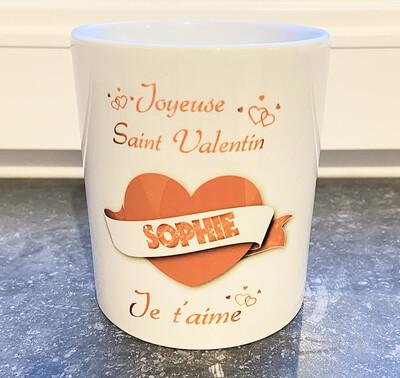 Mug Joyeuse Saint-Valentin