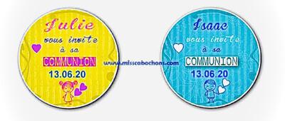 Badge communion