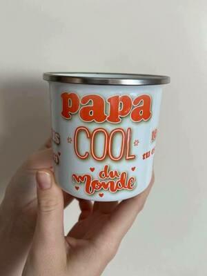 Mug papa tu es le plus cool du monde