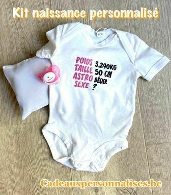Kit naissance personnalisé