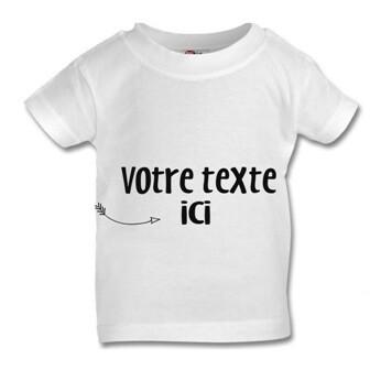 T-shirt unisexe à personnaliser