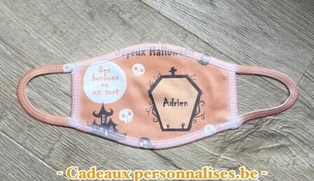 Masque de protection joyeux Halloween