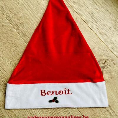 Bonnet de Noël avec prénom