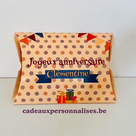 Boîte cadeau joyeux anniversaire