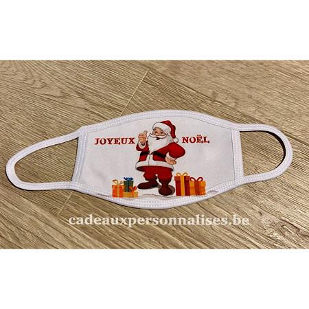 Masque de protection joyeux Noël enfant