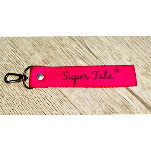 Porte-clefs super mamie / tata / amie
