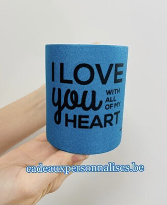 Mug I love you with all of my heart