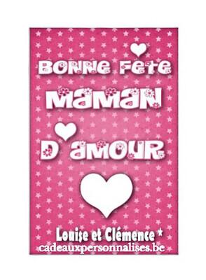 Annonce numérique bonne fête maman d'amour