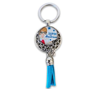 Porte-clefs institutrice