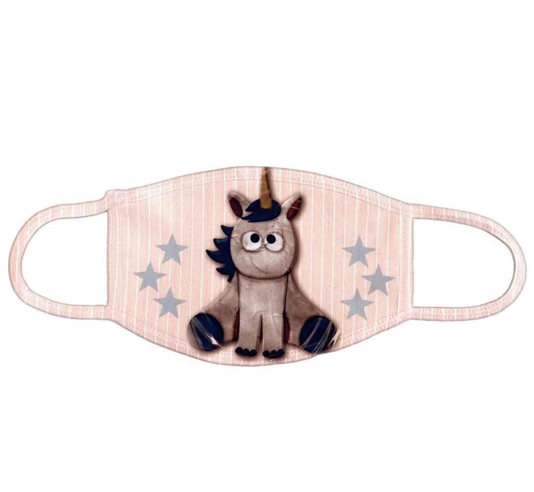 Masque de protection licorne étoilé
