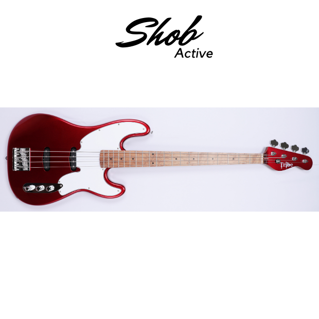 Shob Bass Active (Aguilar OBP1) Red Passion