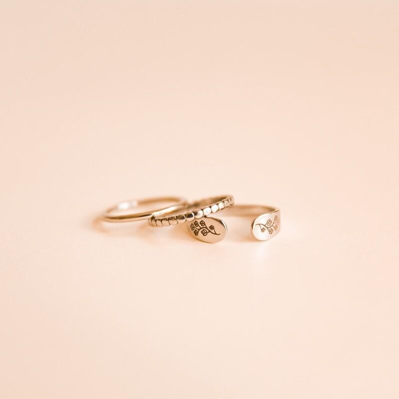 Bloom cuff ring