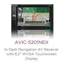 Pioneer AVIC-5201NEX - Save $100