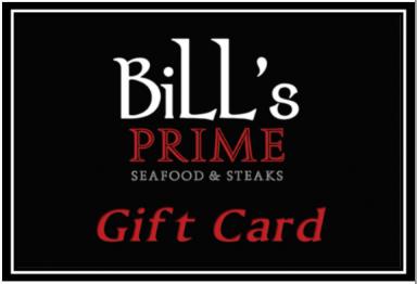 Bill's Prime Gift Card