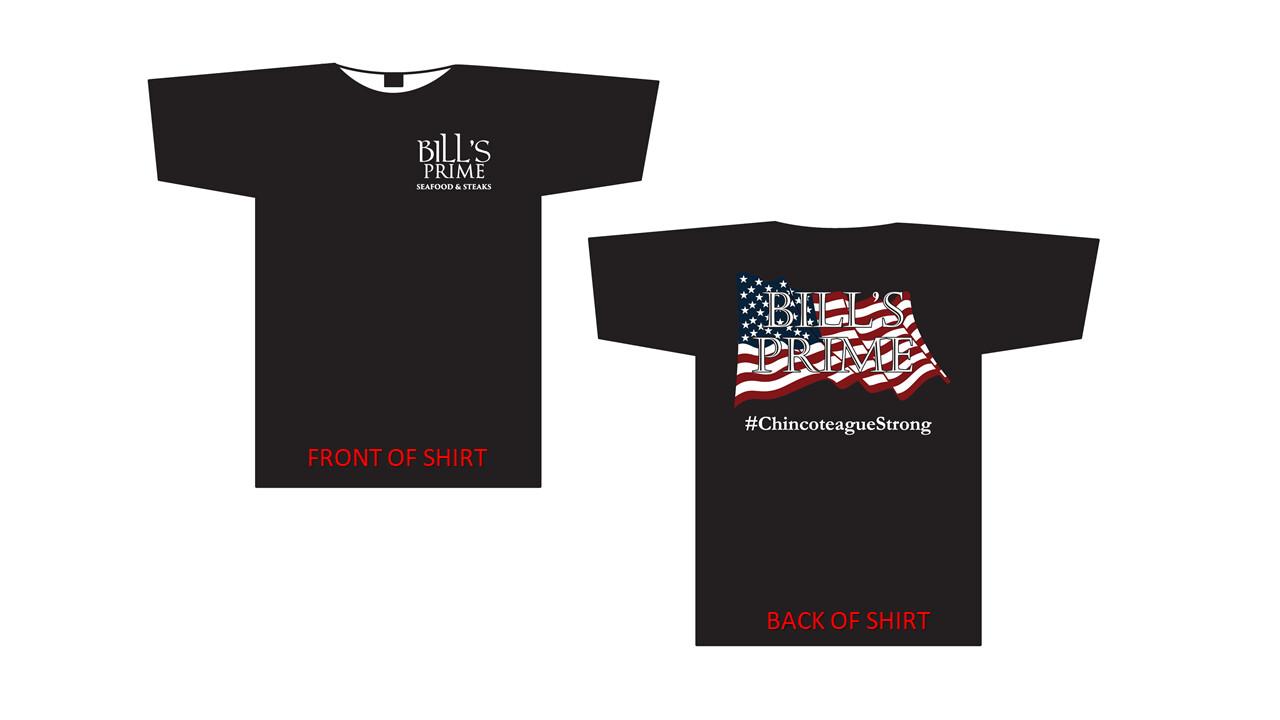 Bill's PRIME Chincoteague Strong T-Shirt