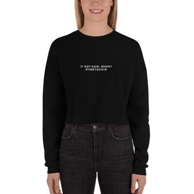 Women's Crop Sweatshirt with