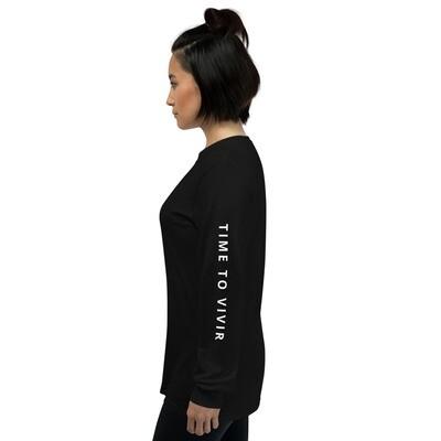 Unisex Long Sleeve Shirt With Logo