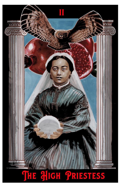"The High Priestess Print 6"" x 9"""