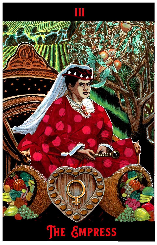 "The Empress Print 6"" x 9"""